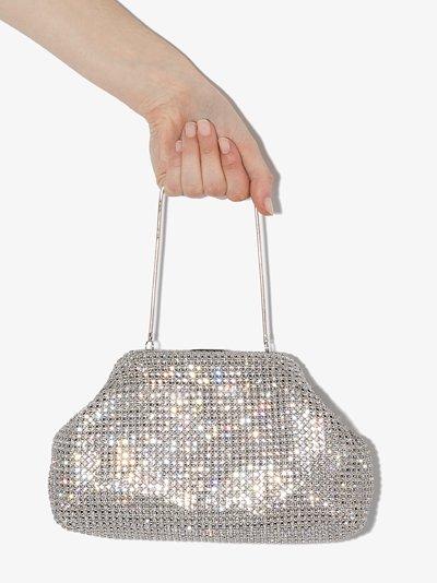 metallic Nina crystal bag
