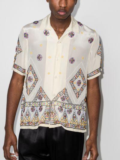 Divine Beaded short sleeve shirt