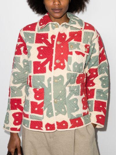 Hawaiian quilted jacket