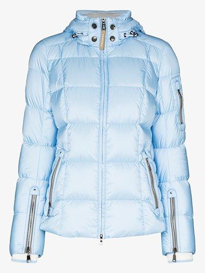 Coro hooded ski jacket