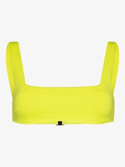 Aria square neck bikini top