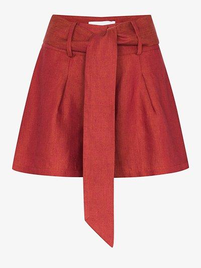 Fancy linen shorts