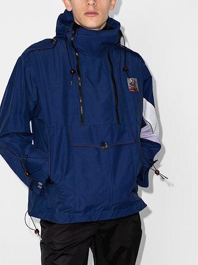 cargo pocket windbreaker jacket