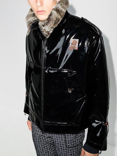 officer bomber jacket