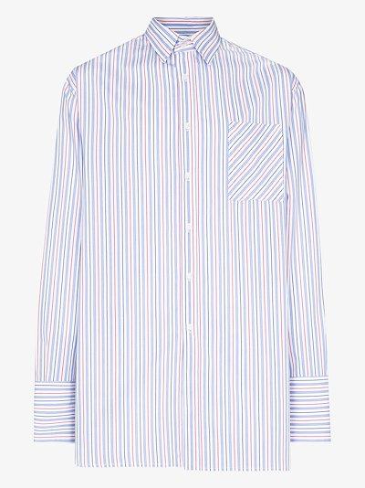 Victorian striped shirt