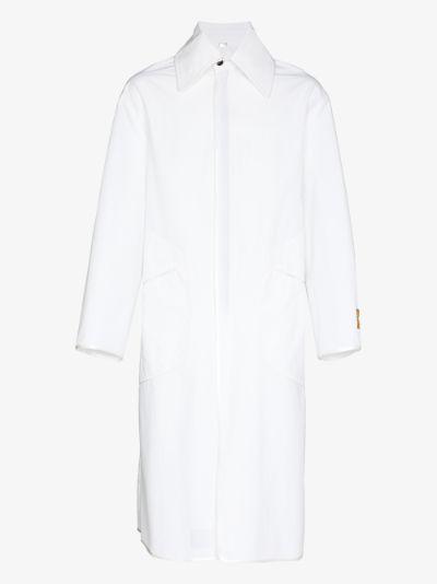 Zip-Up Duster Coat
