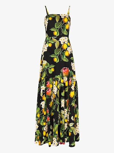 Cordelia floral print maxi dress