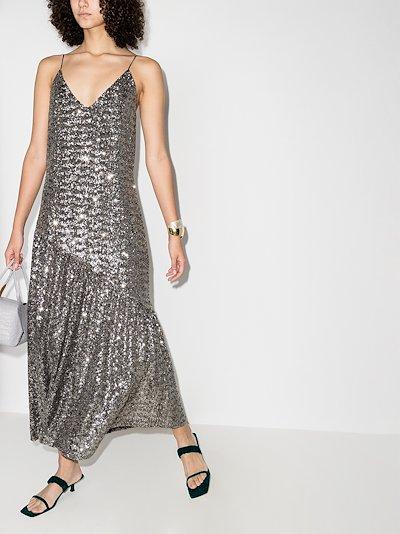 Joana sequin maxi dress