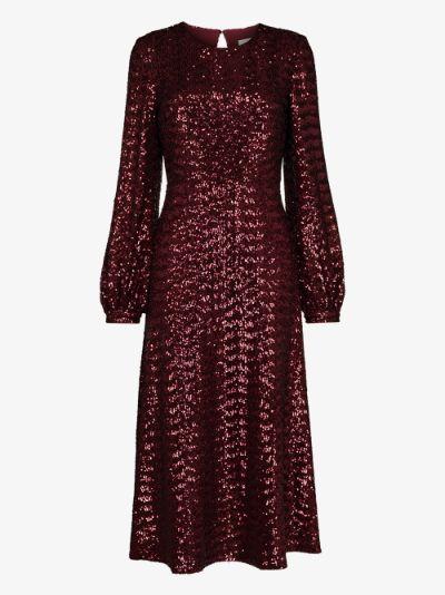 Zelda sequinned dress