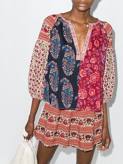 Darya Patchwork Full Sleeve Top
