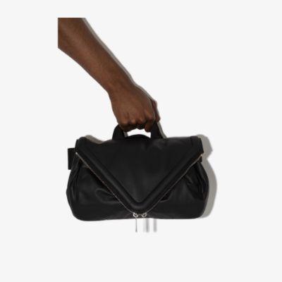 Beak leather belt bag