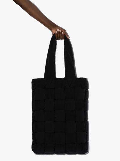 black Intrecciato tote bag