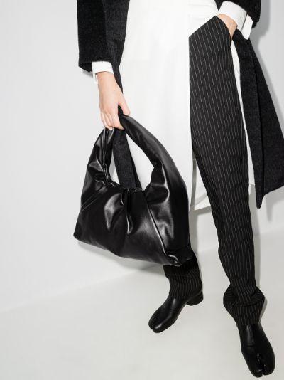 Black The Shoulder Pouch leather bag