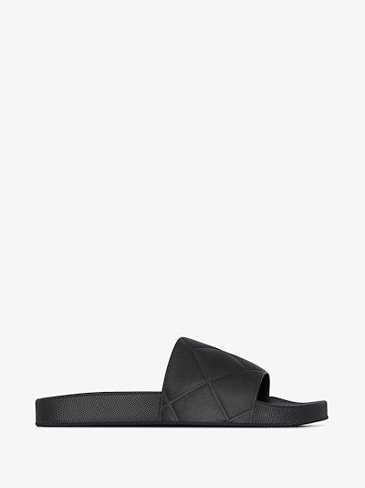 black The Slider sandals