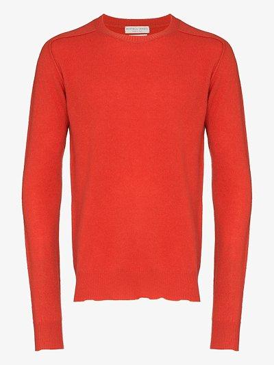 crew neck cashmere sweater