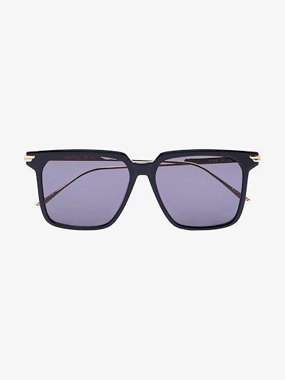 black square frame sunglasses
