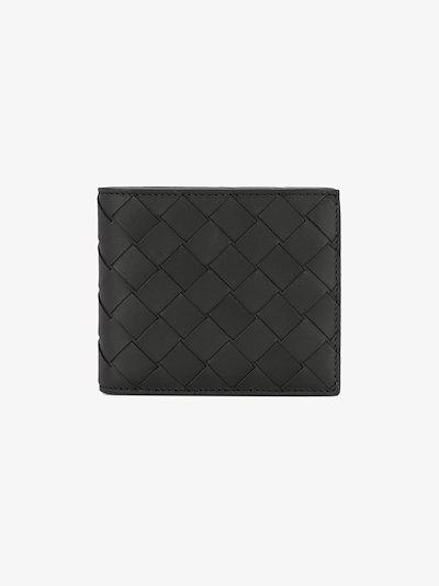 Intrecciato billfold wallet