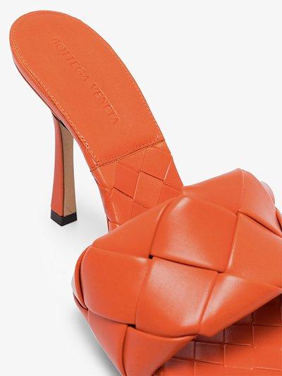 orange BV lido 90 leather sandals