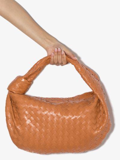 orange The Small Jodie leather shoulder bag