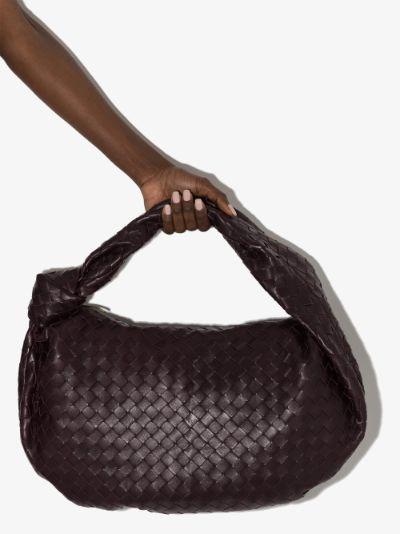 purple The Medium Jodie leather shoulder bag