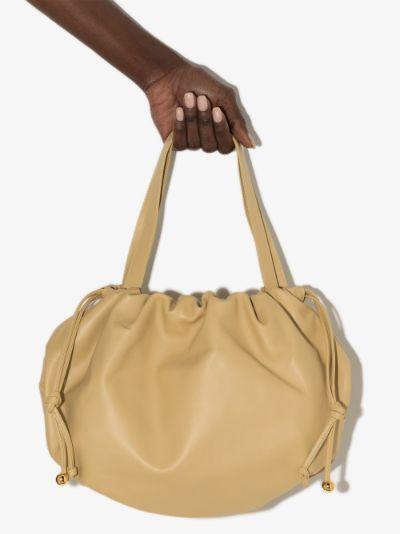 yellow The Medium Bulb leather shoulder bag