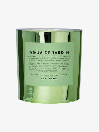 Green Agua de Jardin Candle