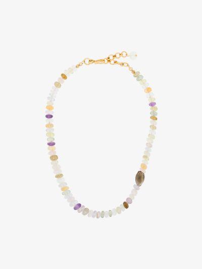 Multicoloured Dazzle Gemstone Necklace