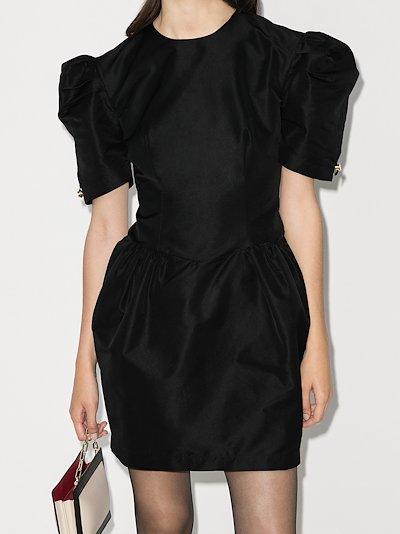 Charlie pouf sleeve mini dress