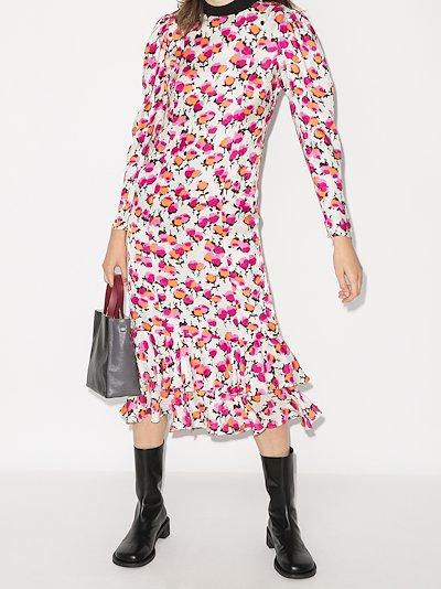 Drew floral midi dress