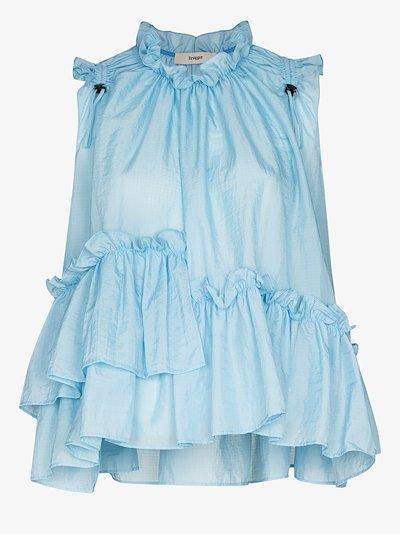 Ensley tiered sleeveless blouse