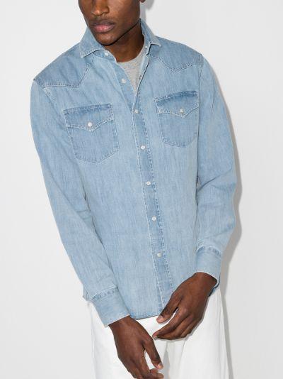 button-up Denim Shirt