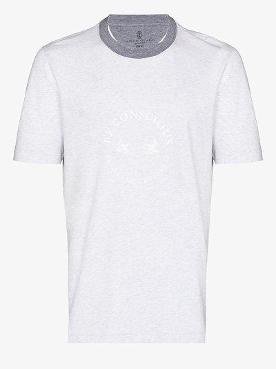 circle logo t-shirt