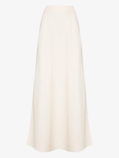side split maxi skirt