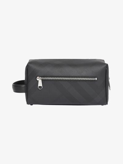 black House check wash bag