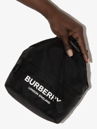 black Phoebe logo mini bag