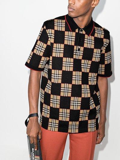 Blakeford Vintage check polo shirt