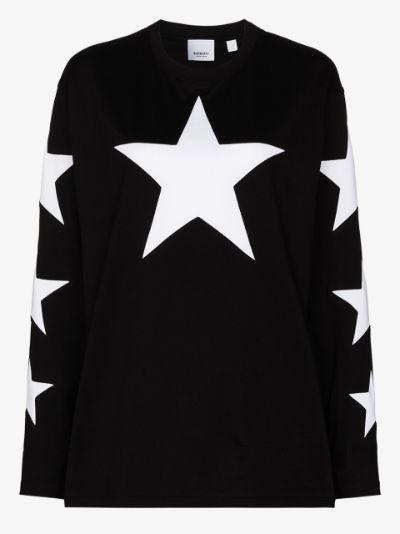 Creuse star print long sleeve T-Shirt