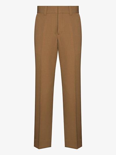 grain de poudre tailored trousers