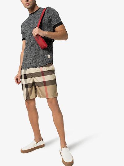 Guildes Vintage check swim shorts