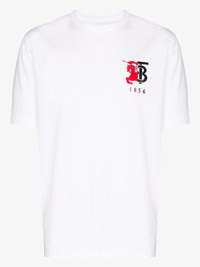 Hesford logo cotton T-shirt