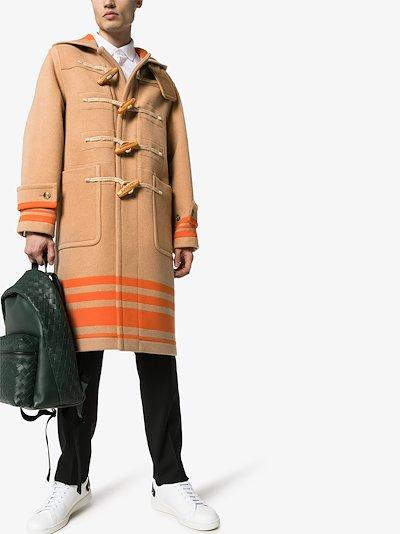 hooded duffle coat