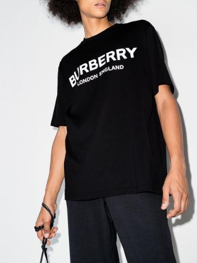 Letchford logo print cotton T-shirt