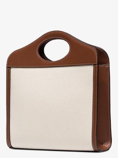mini logo print pocket bag