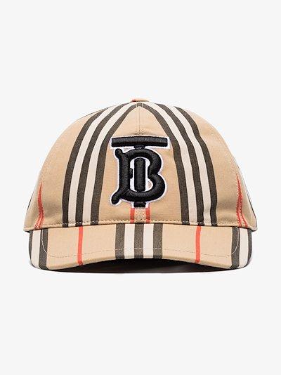 monogram motif baseball cap