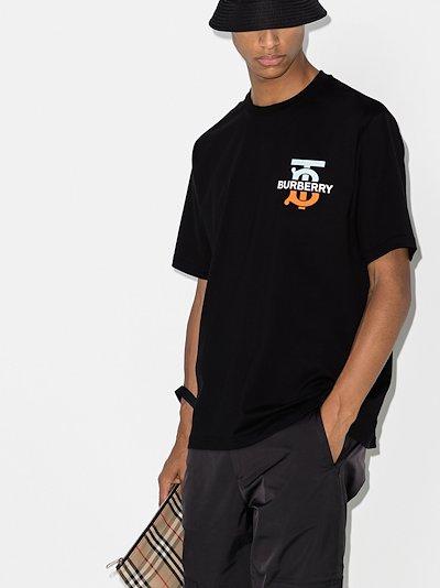 Monogram print T-shirt