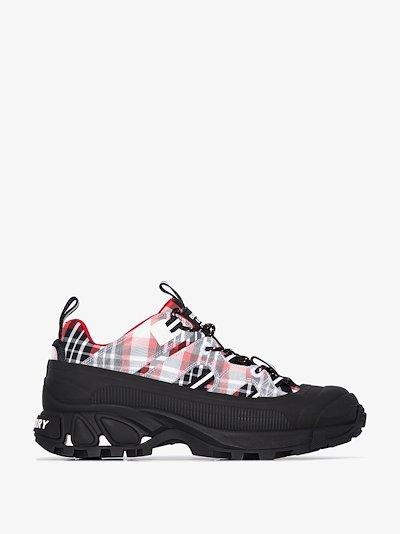 multicoloured Arthur tartan sneakers