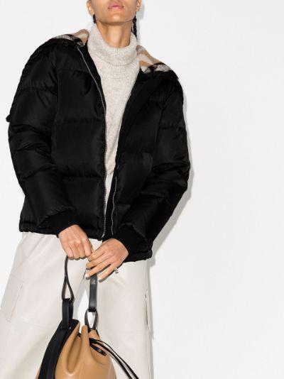Seafield Vintage check padded jacket