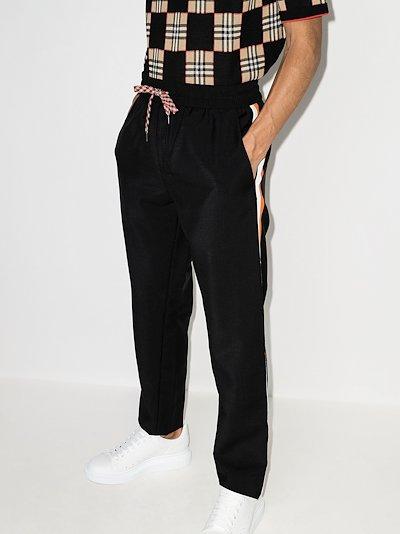 side tape sweatpants