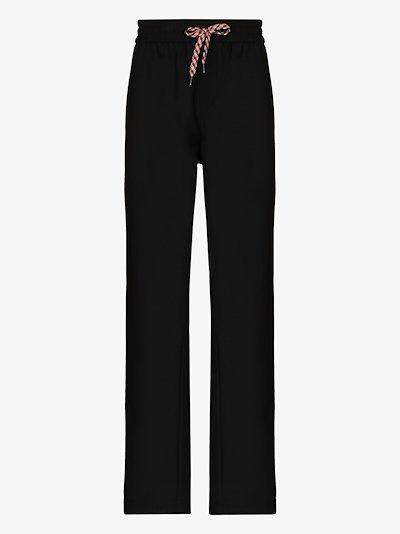 stripe-detail track pants