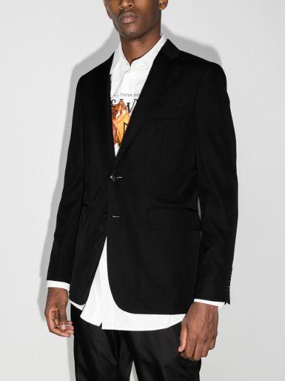 tailored slim blazer